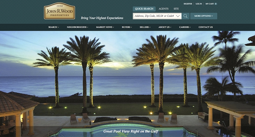 John R. Wood Realtors Launches New Site