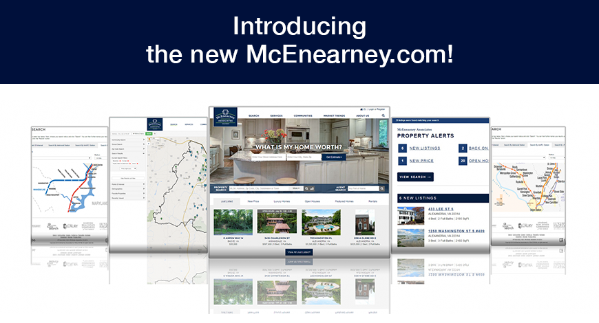 McEnearney Associates Launches New Site on Enterprise Platform