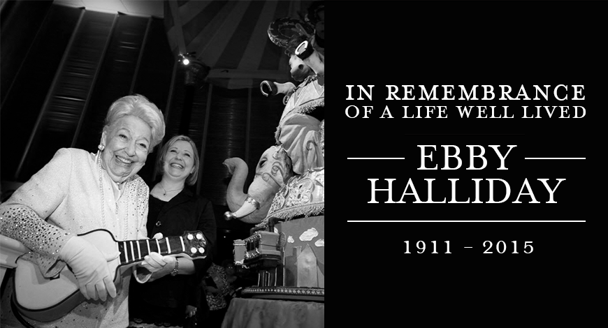 Remembering Ebby Halliday,  a Beloved Real Estate Icon