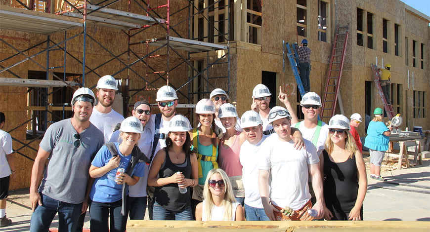 The Enterprise Network Partners with Giveback Homes to Build Home for Families in Need