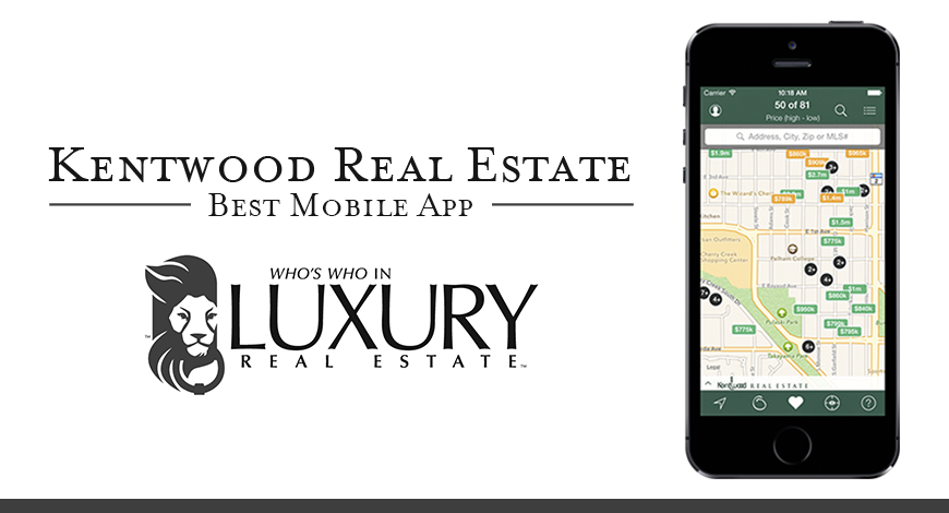 Kentwood Real Estate Wins Award for Best App