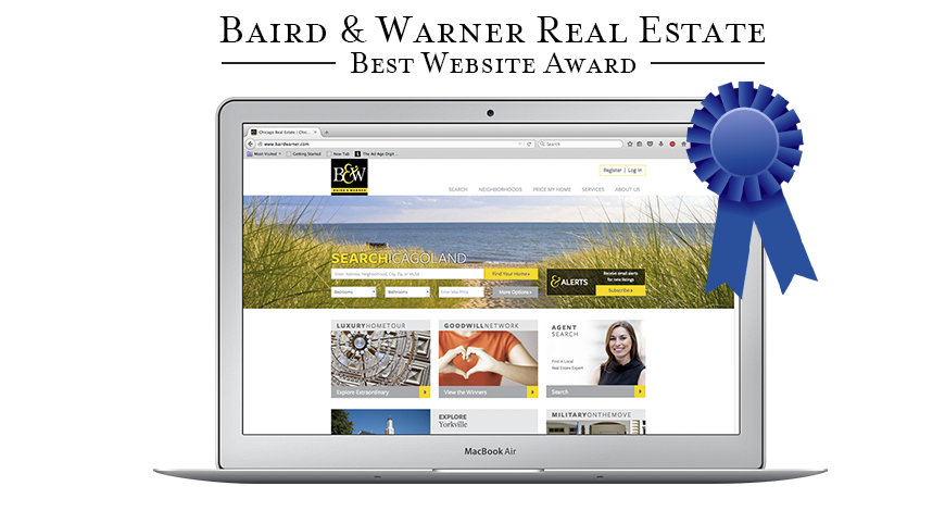 Baird & Warner Wins Best Website Award for 4th Consecutive Year!