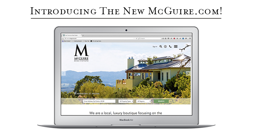 McGuire Real Estate Offers a Luxurious Search Experience for the San Francisco Area