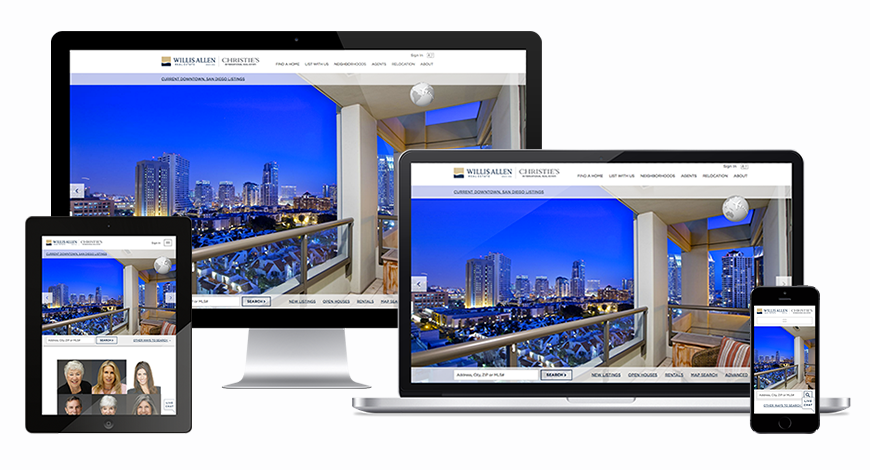 Willis Allen Real Estate Launches New Site on Enterprise Platform