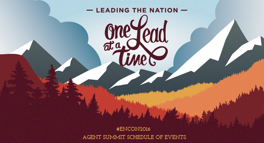 ENCON2016: Schedule Announced for Our Agent Summit!