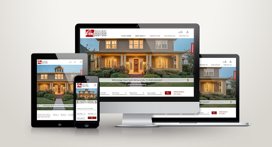 Introducing Ebby Halliday Realtors' Redesigned Website on The Enterprise Platform