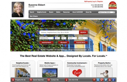 GARDNER REALTORS Launches New Site!
