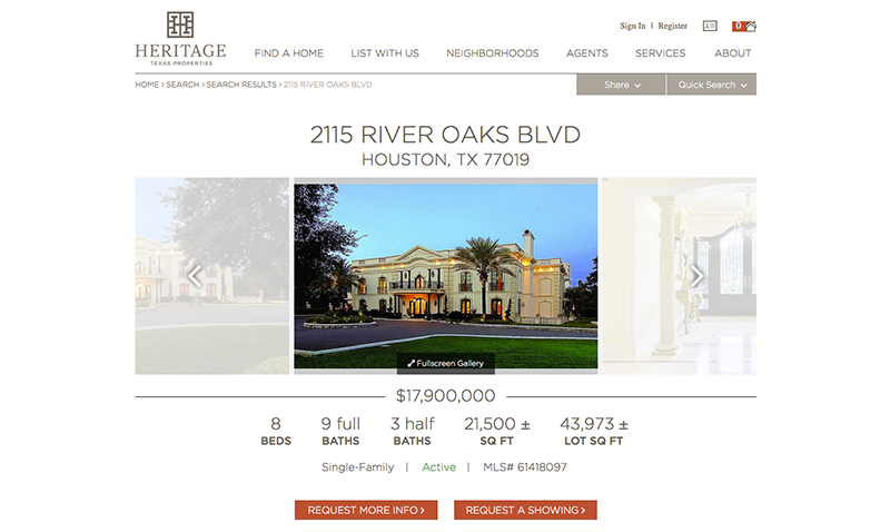 Heritage Texas Properties Property Details Page