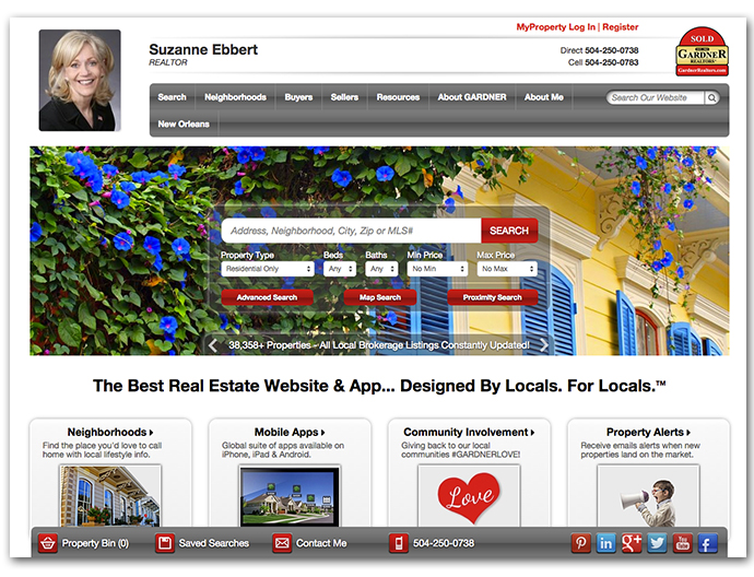 Enterprise network gardner realtors launches new site for Gardner website